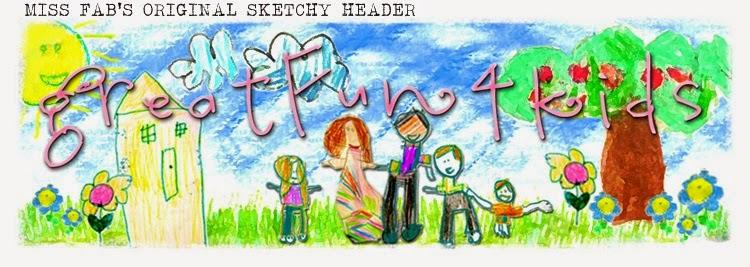 Child's design for blog header