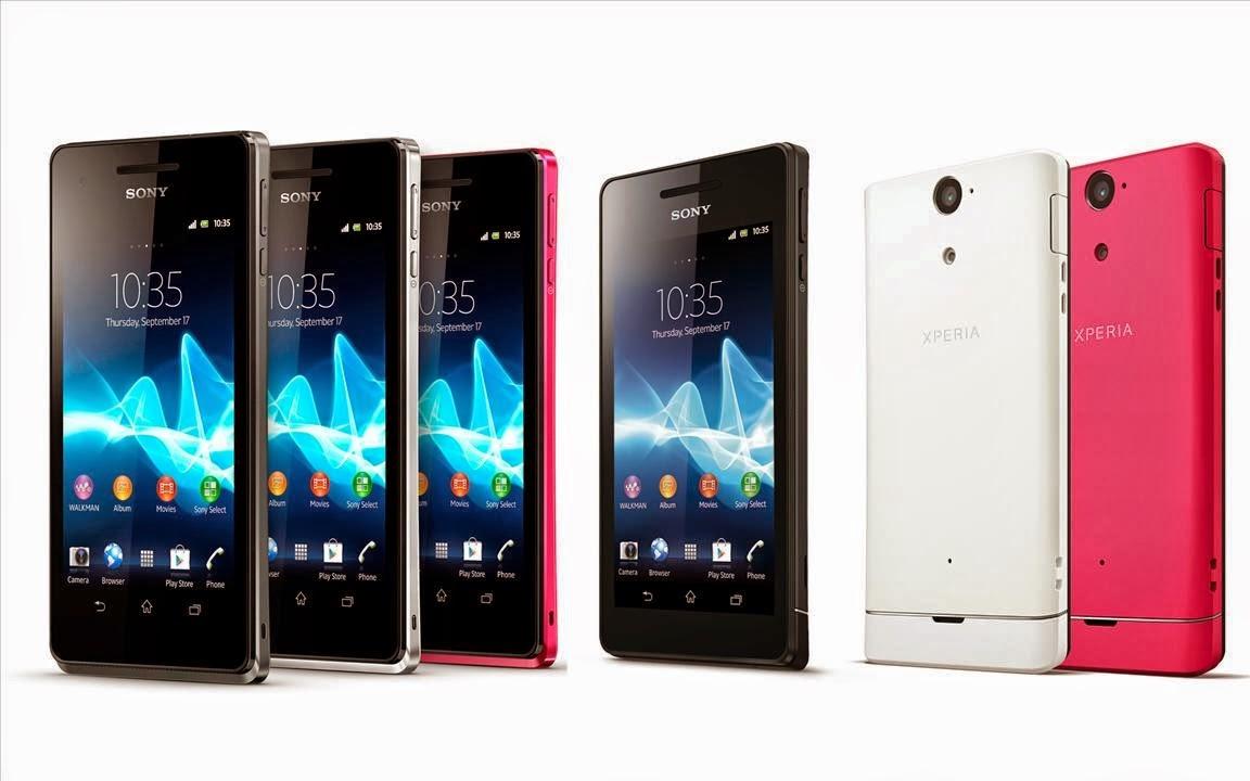 Daftar harga Hanphone Sony Experia Terbaru bulan Mei 2014