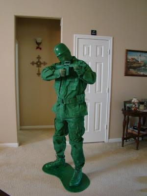 fantasias criativas soldado verde toy story
