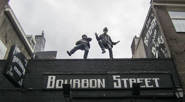 Bourbon Street em Amsterdã