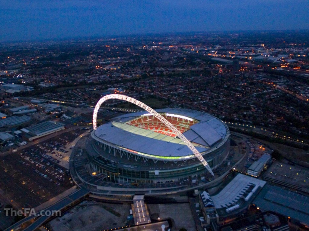 FULL WALLPAPER: 10. Wembley Stadium (90,000