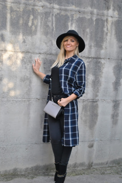 abito stampa tartan camicia stampa tartan come abbinare la stampa tartan abbinamenti stampa tartan mariafelicia magno fashion blogger colorblock by felym fashion blog italiani fashion blogger italiane blogger italiane di moda blogger italiane outfit ottobre 2015 outfit of the day look of the day outfit autunnali how to wear check print how to combine tartan print how to wear tartan print how to combine check print fall outfit maxi shirt dress how to wear maxi shirt tartan print street style check print street style influencer italiane
