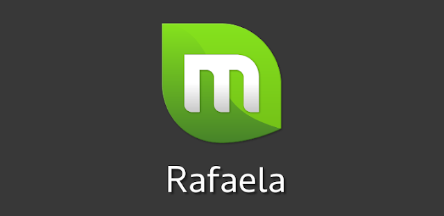 "Logo do Linux Mint 17.2 ""Rafaela"""