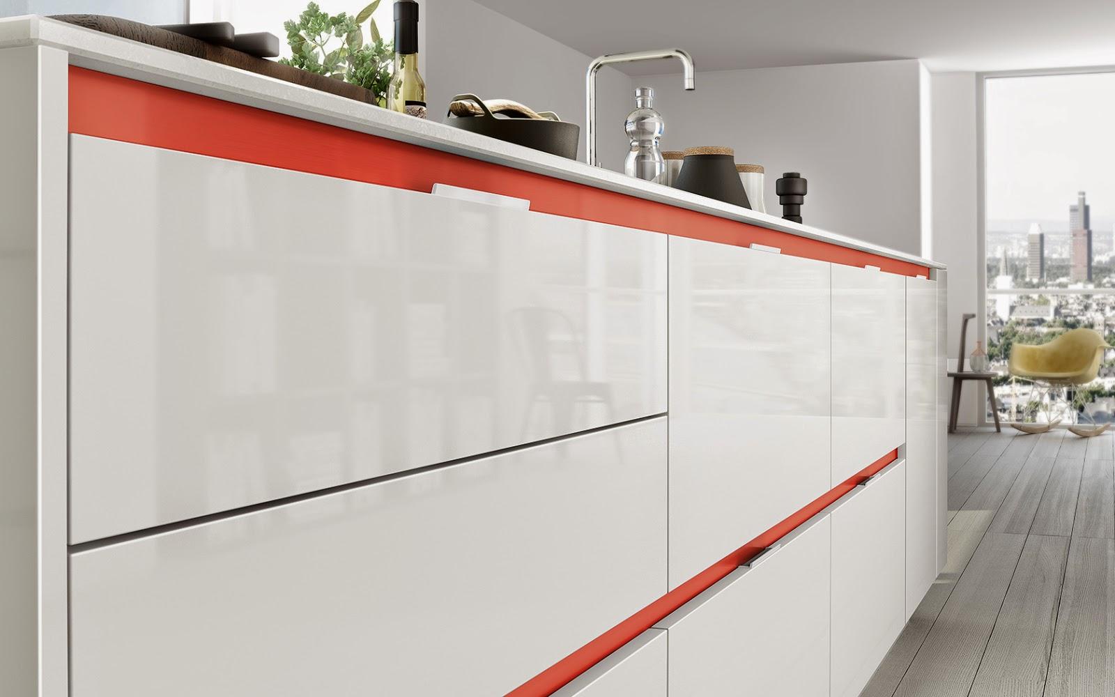 Tiradores de cocina peque os y necesarios accesorios cocinas con estilo - Perfiles de aluminio para muebles ...