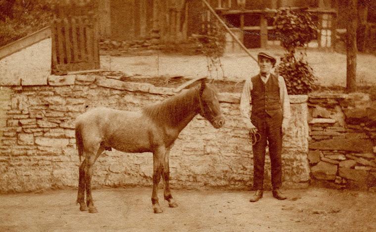 John Hughes and his pony