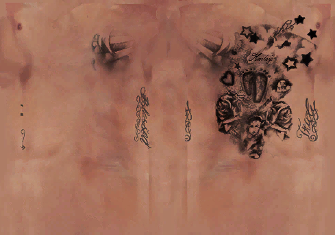 NBA 2K14 D.J. Augustin Cyberface Tattoos Update