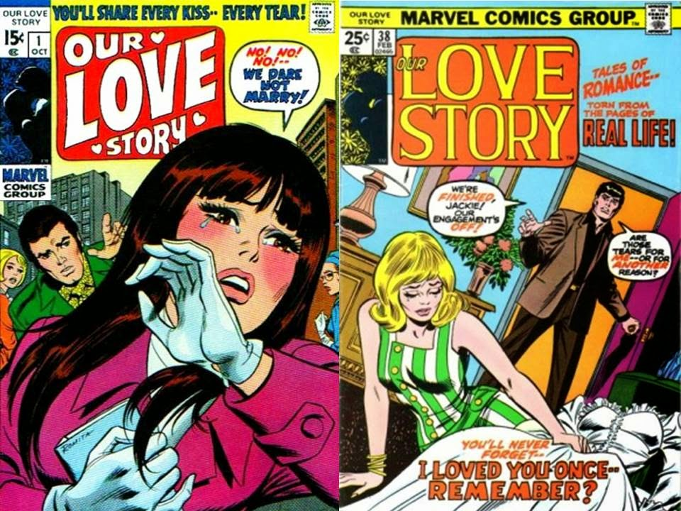 dave s comic heroes blog our love story by spider man