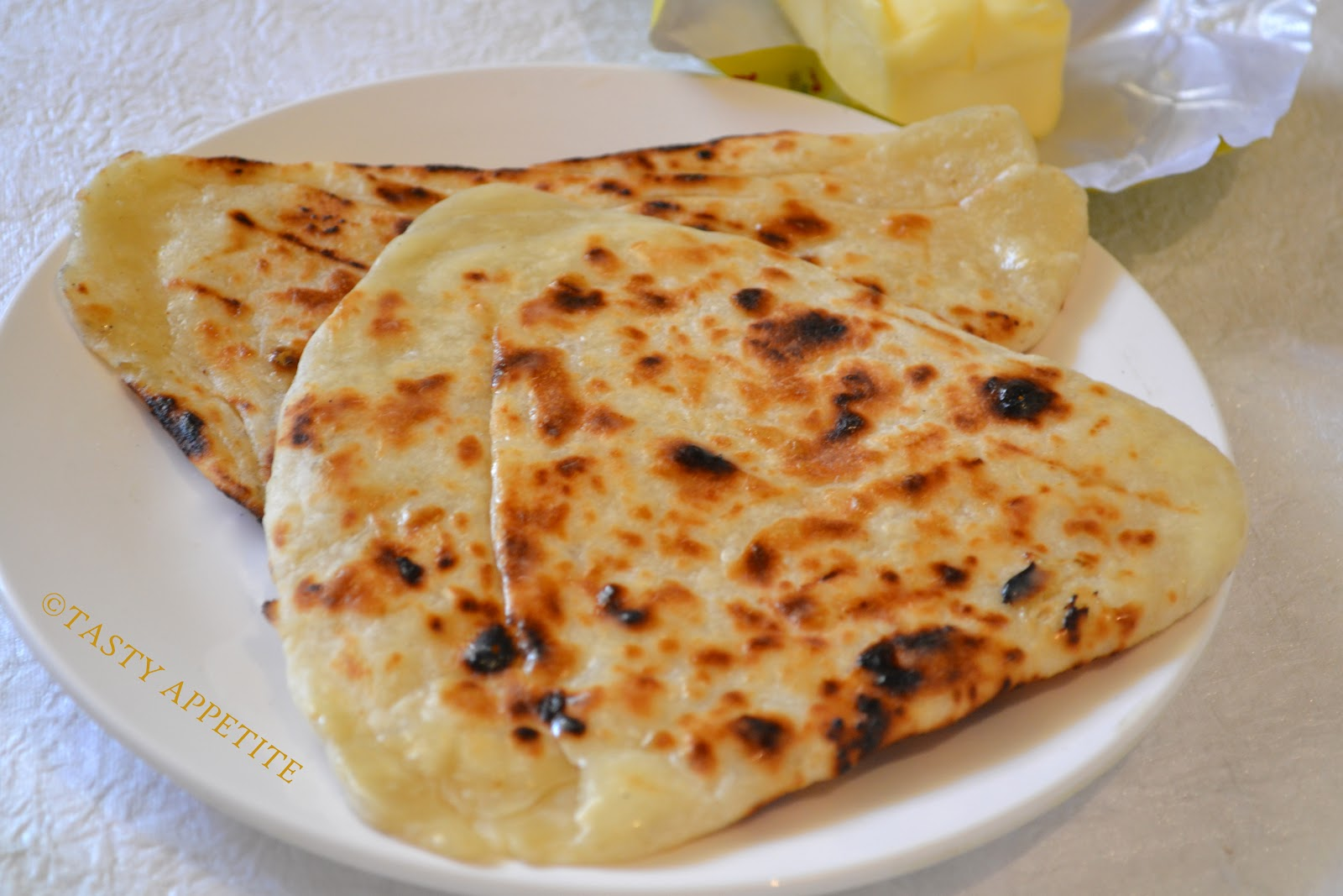 How to make Naan / Butter Naan at home: | Tasty Appetite
