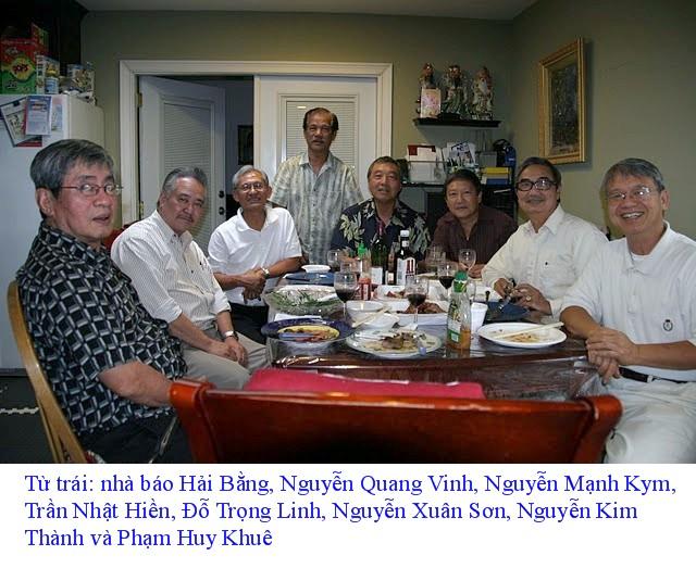 Khóa 6/68 tại nhà Trần Nhật Hiền