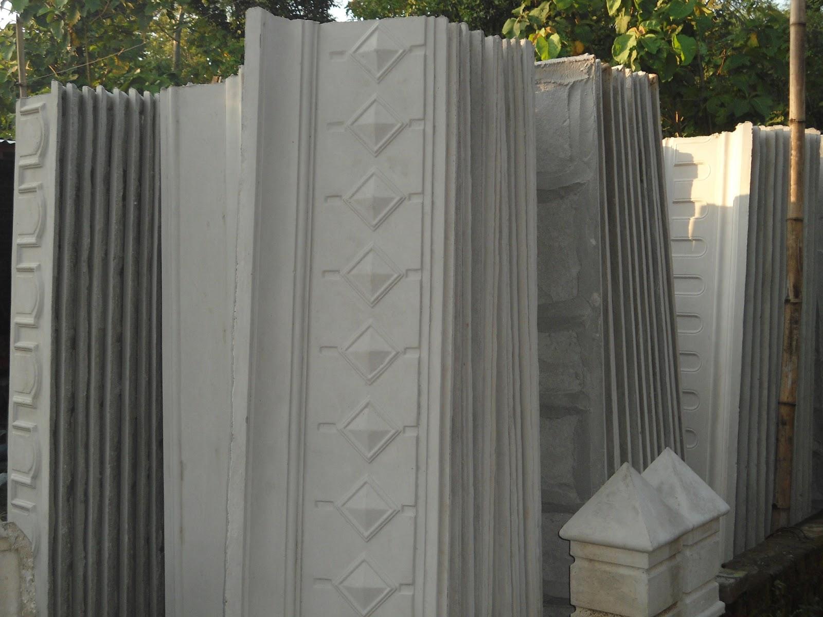 sanjaya profil beton motif listplang cetakan