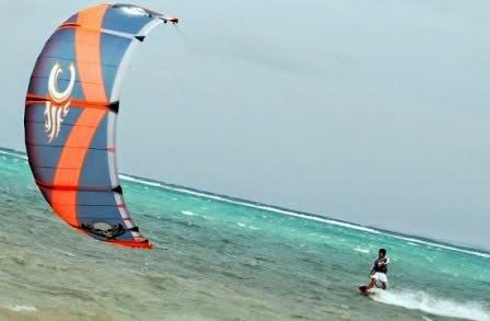 boracay kite boarding
