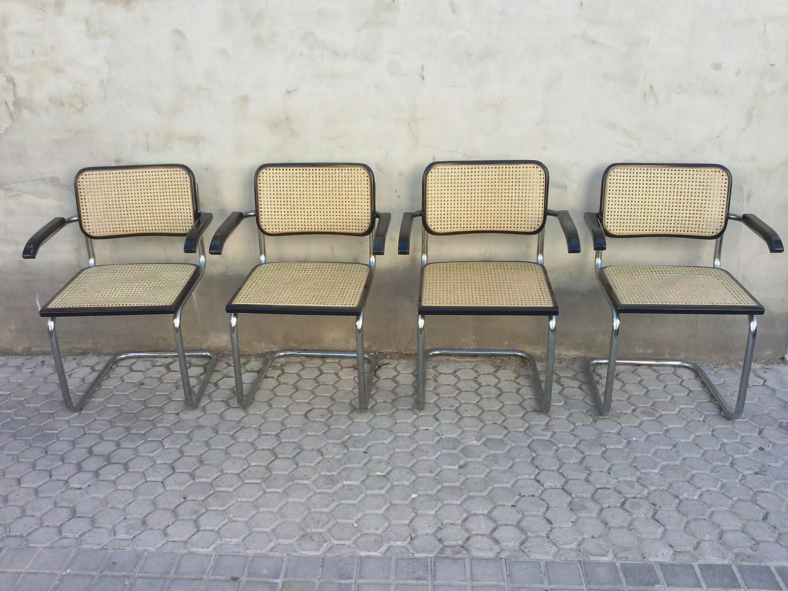 El rastronauta sillas estilo cesca de marcel breuer - Silla marcel breuer ...