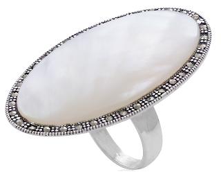 anel grande prata