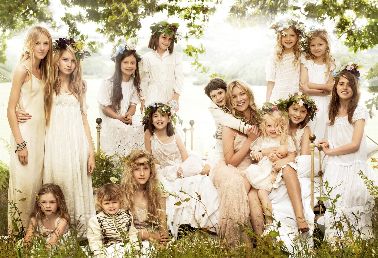 Kate Moss Bridesmaids - Affordable Wedding Dresses: Ethereal
