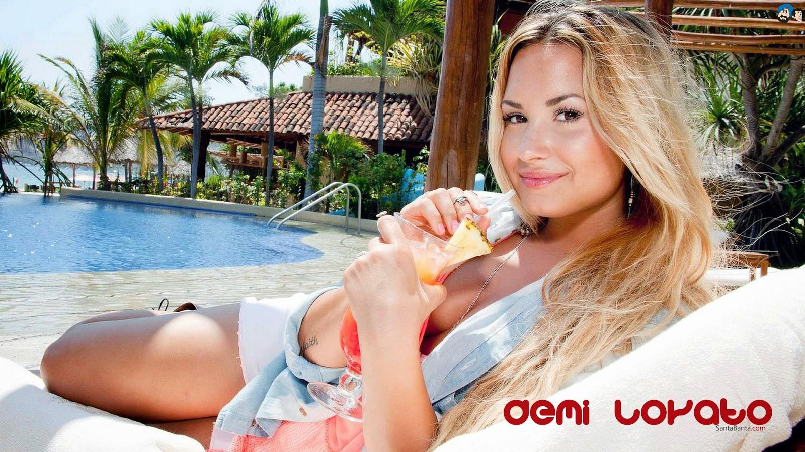 Demi Lovato Hot HD Wallpaper