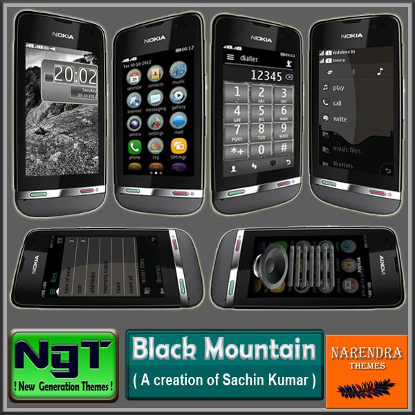 Narendra's Themes: Black Mountain