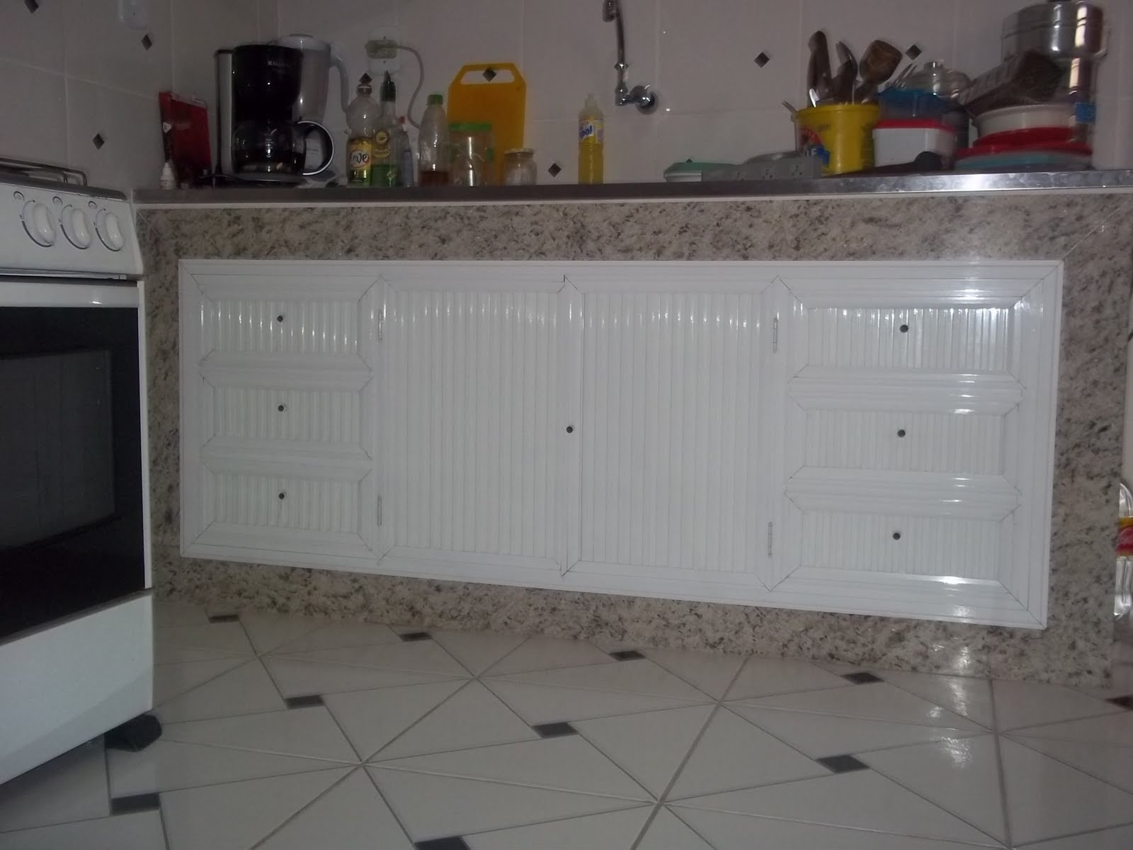 #474355 Armario Para Pia De Cozinha Em Aluminio Idéias do Projeto da Cozinha para a  1600x1200 px Armario De Cozinha Em Aluminio #2973 imagens