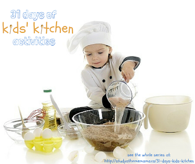 kids' kitchen activities