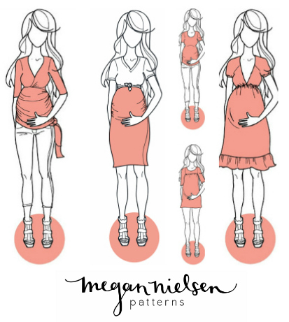 The Haby Goddess Megan Nielsen Maternity Sewing Patterns