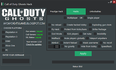 Call Of Duty: Ghosts Hack