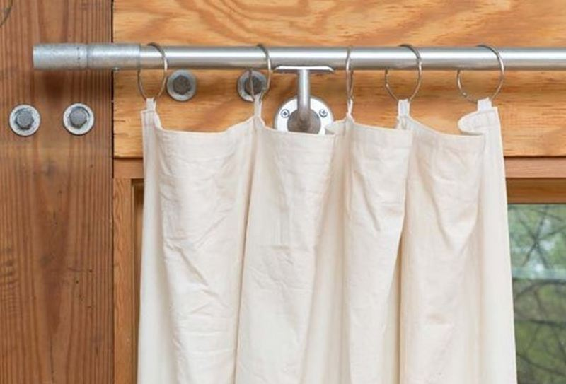 how to get rust out of fabric shower curtain