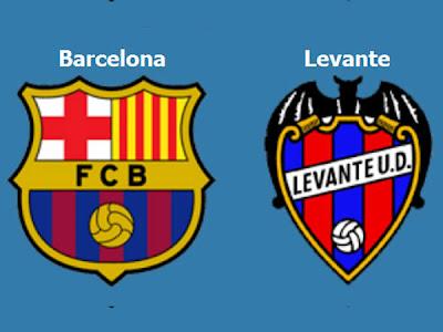 InfoDeportiva - Informacion al instante. FC BARCELONA VS LEVANTE. Horarios, Resultados, Estadisticas, Online