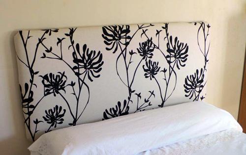 10 ideas de cabeceras para camas decoguia tu gu a de - Telas para forrar cabecero cama ...