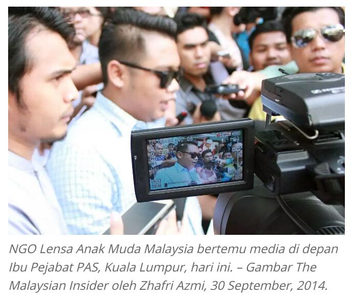 DAP PKR mula Gerakan BUANG PAS cara Halus Guna NGO NGO anak muda serah memorandum desak PAS keluar Pakatan