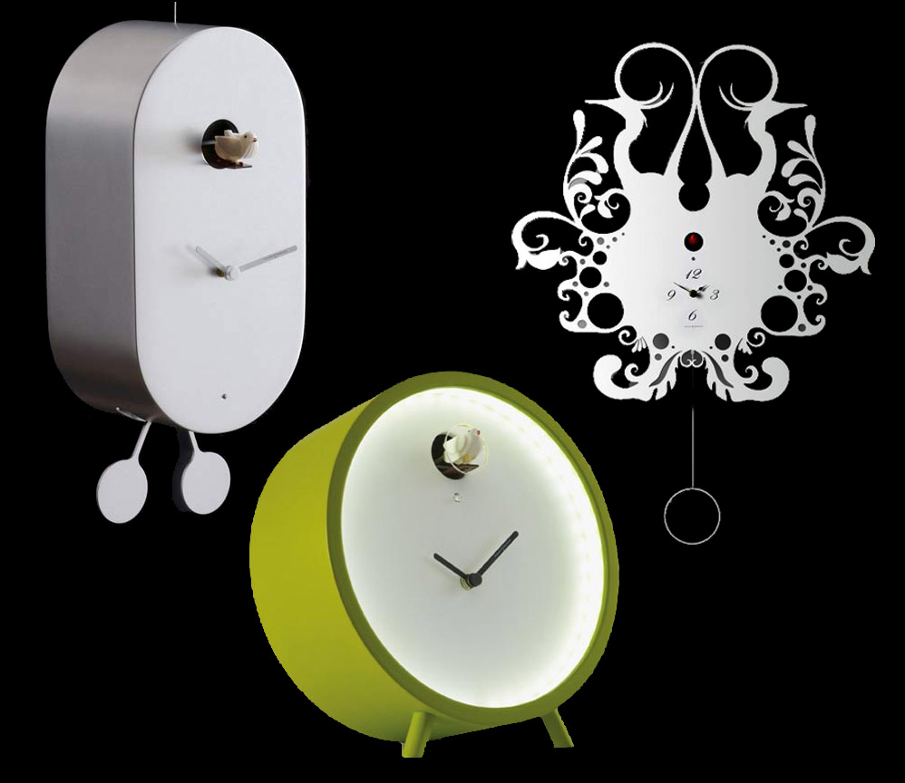 If it 39 s hip it 39 s here archives you 39 ll go cuckoo over these eight modern clocks from italy 39 s - Contemporary cuckoo clock ...