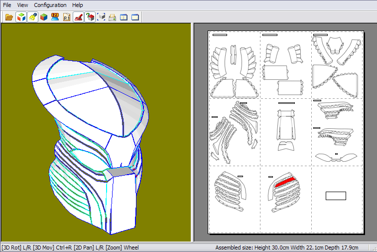 Coffeebot Props Predator Mask Part 1 What is Pepakura  : 24117652pj8 from coffeebotprops.blogspot.com size 757 x 505 png 97kB