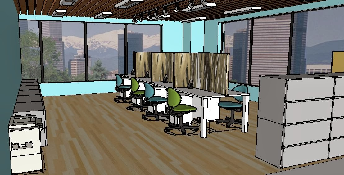 Interior Design By Mallory Office Design Sketchup Views