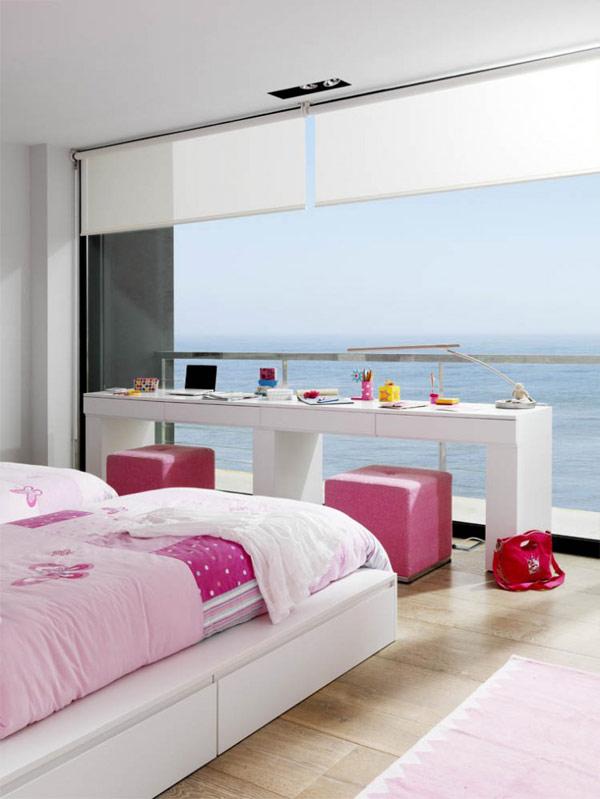 Amplias vistas al mar y la supremac a de un solo color for Decoracion casa granada