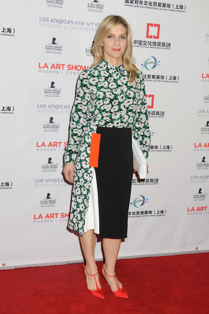 Actress, @ Rhea Seehorn - LA Art Show and Los Angeles Fine Art Show's Opening Night Premiere Party in LA