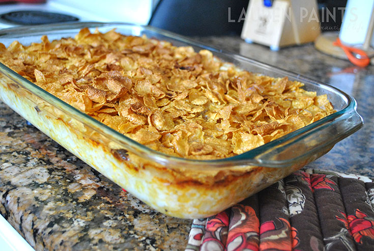 #TasteTheSeason #ad #CheesyPotatoCasserole #Cajun #Kraft #ShreddedCheese #cbias