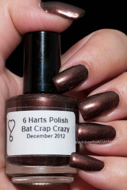 6 Harts Polish Bat Crap Crazy