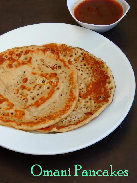 Omani Raised Pancakes