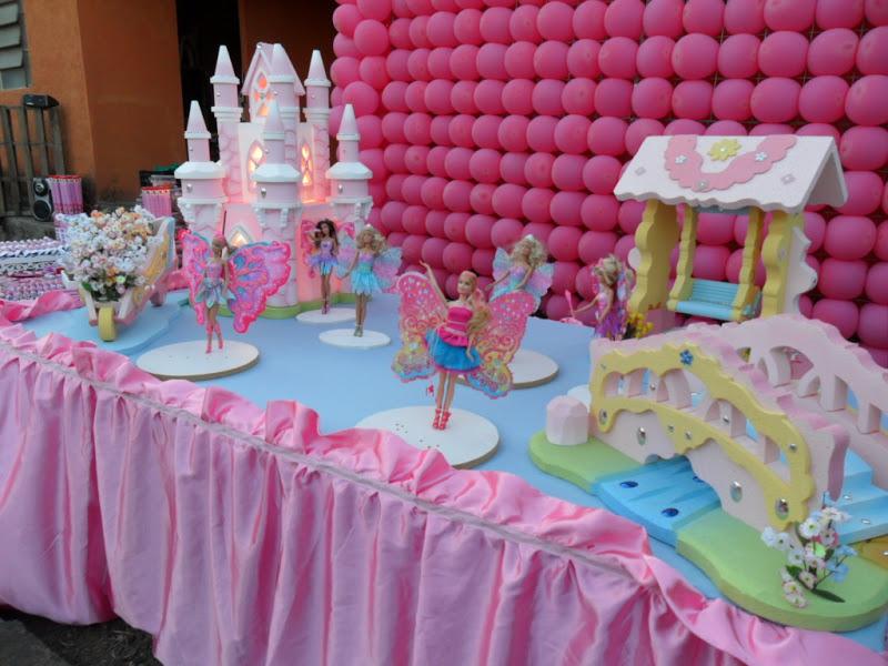 decoracao festa barbie : decoracao festa barbie:Doce Encanto: DECORAÇÃO FESTA DA BARBIE FADAS
