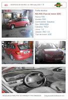 Ficha técnica KIA RIO (Tipo de motor A3E) Marca: KIA Modelo: RIO Combustible: Gasolina Año: 2000-2005 Caballos: 75CV Litros: 1.3 Versión: RIO 1.3I Tipo de motor: A3E