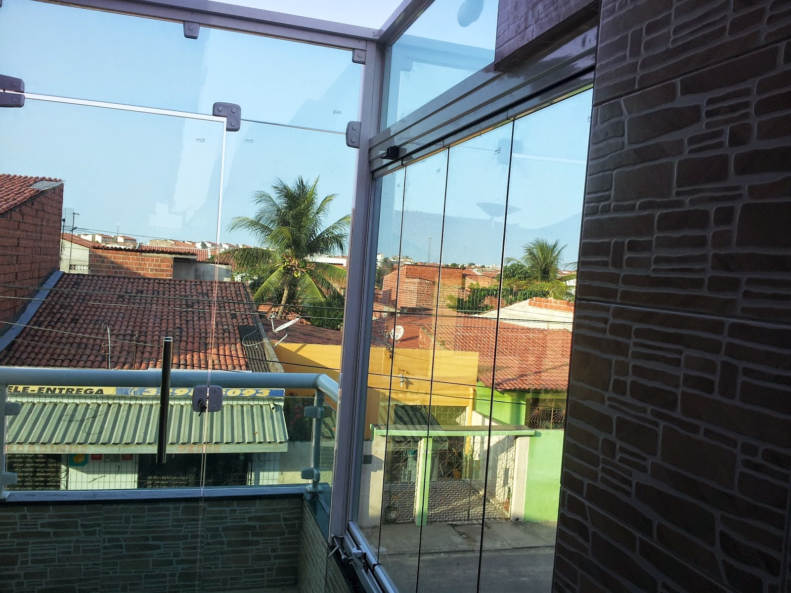 #267FA5 Criativo Vidraçaria: Cortina de vidro em Fortaleza 92 Janelas De Vidro Em Fortaleza Ce