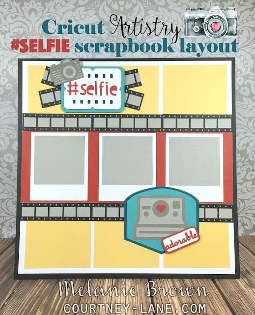 selfie layout