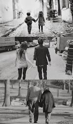 Quiero envejecer de tu mano, que cumplamos nuestros sueños juntos, alegrándonos los días.