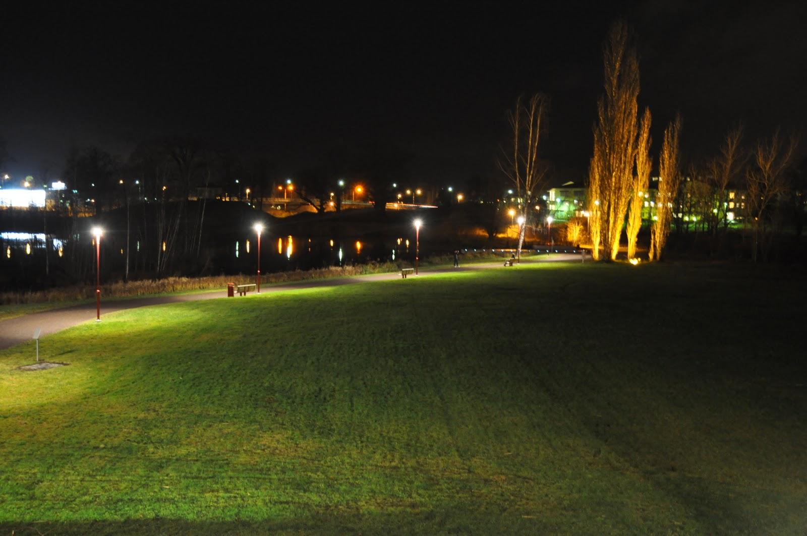 En belysningsplanerare berättar: Åparken
