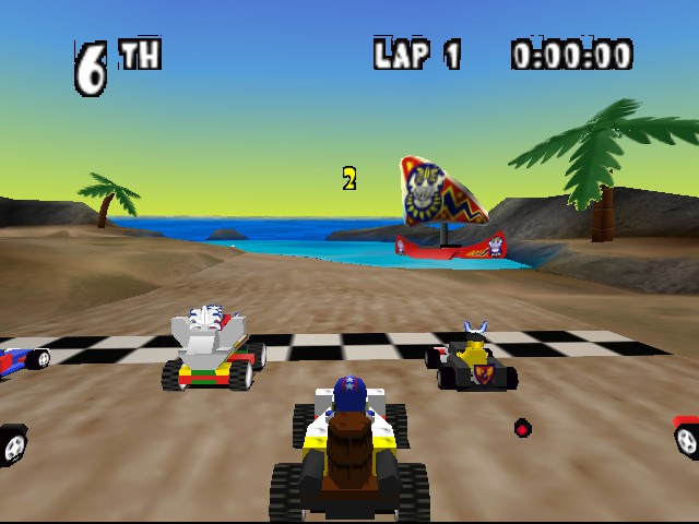 Top 10 Greatest N64 Racing Games - LEGO Racers