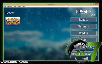 PPSSPP 0.8.1 Emulator PSP