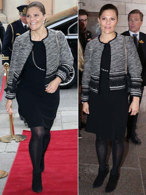 """Crown Princess Victoria of Sweden awarded Johan Söderström, CEO of ABB the """"Sustainability Prize"""" at the a business weekly magazine's Sustainability Day"""