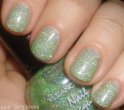 kleancolor holo green