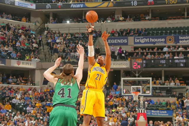 David West is a constant reminder of what could have been with the Celtics