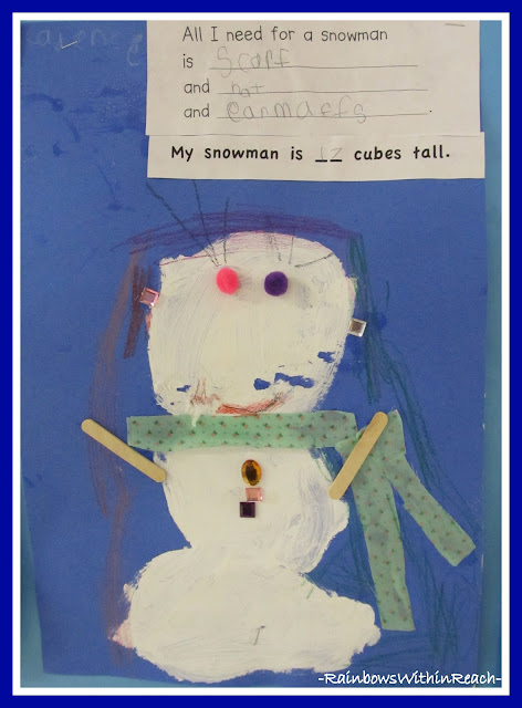 photo of: snowmen and math at RainbowsWithinReach