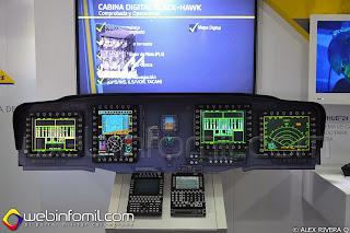 Cabina modernizada para helicópteros UH-60L Black Hawk.