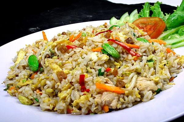 Cara membuat Nasi Goreng Ikan Asin | Resep Masakan Emak